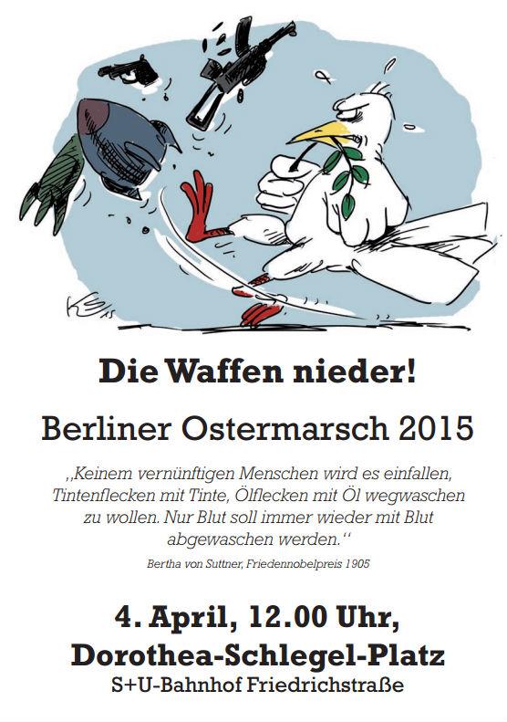 Ostermarsch 2015 in Berlin